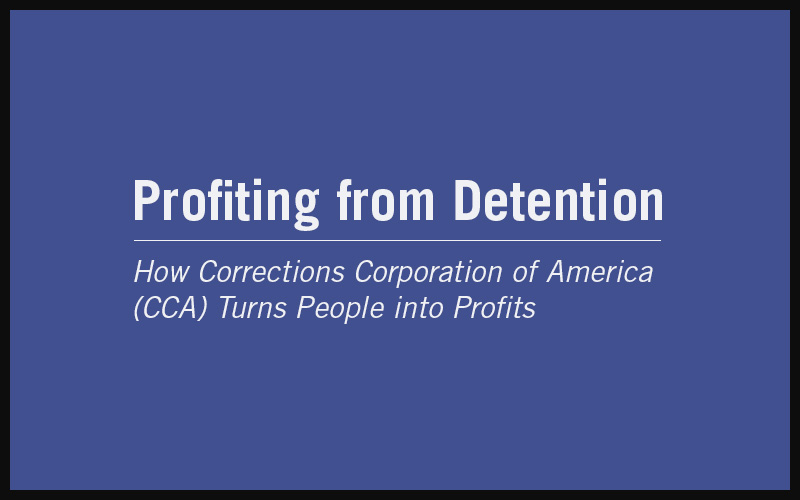 Arizona: The Cost of Immigrant Detention | States of Incarceration